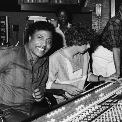 Little Richard and Michael B.
